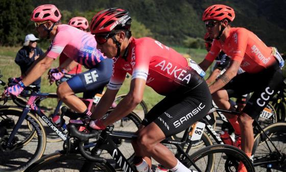 Bernal, Chaves, Quintana y López, cuatro colombianos en el 'top 10' del Tour