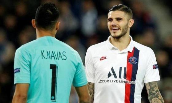 Keylor Navas, Icardi y Marquinhos dan positivo por COVID-19, según L'Equipe