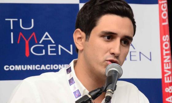 Jorge Rodrigo Tovar Vélez, hijo del exjefe paramilitar 'Jorge 40'.