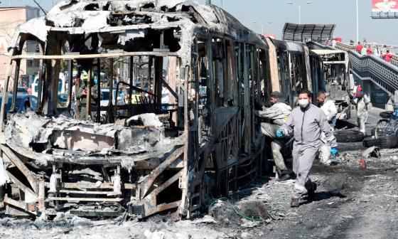 Protestas en el centro del país dejan varias víctimas mortales