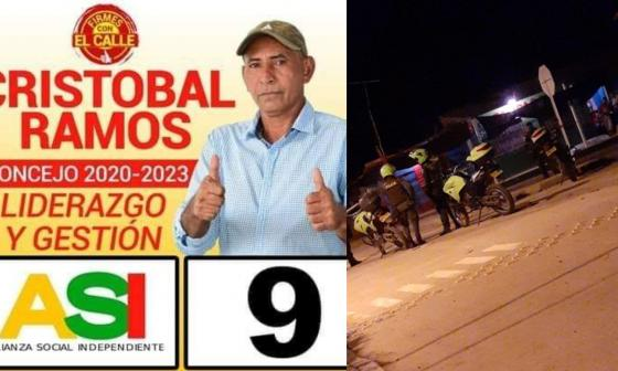 Otro líder de Córdoba que muere a manos de violentos