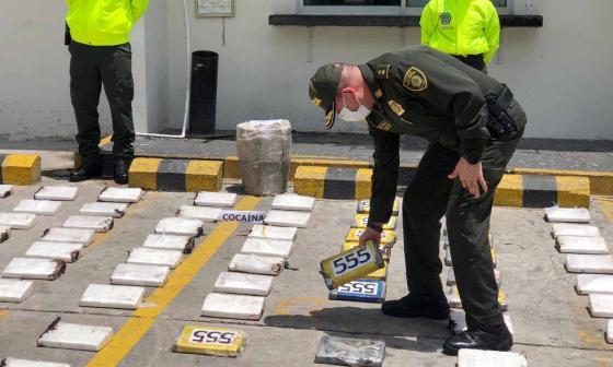En video   Cocaína incautada era custodiada por 'Los Costeños': Policía