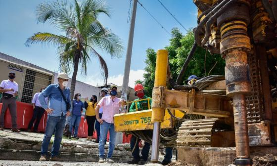 Un nuevo tramo del arroyo Felicidad será canalizado por el Distrito