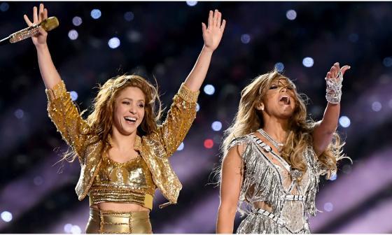 Shakira y JLo ganan su primer Emmy con show del Super Bowl 2020