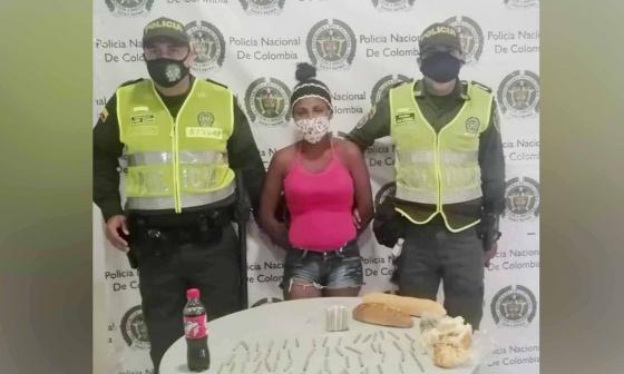 Intentó ingresar narco-panes a estación de Policía