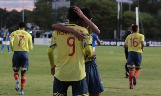 Ricardo Caraballo ya fue goleador con la Selección Colombia.