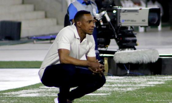 Luis Amaranto Perea ha ganado los dos partidos que ha dirigido como director técnico de Junior.