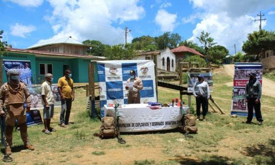 En Montes de María hay 9 zonas más libres de minas antipersonas
