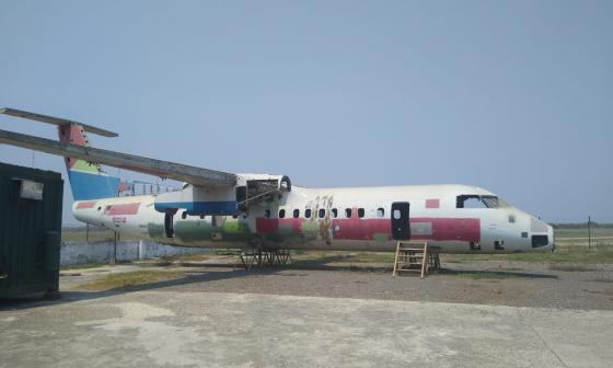 Soledad tendrá un parque temático con avión donado por el Sena