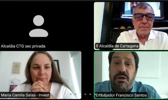 En video | Con la reapertura, Cartagena busca atraer inversión extranjera