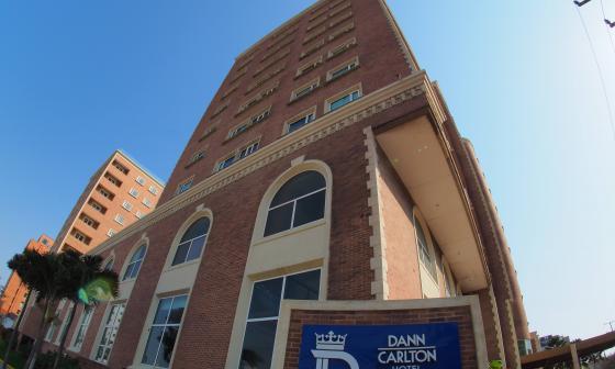 Selección Colombia ocupará una torre completa de hotel Dann Carlton