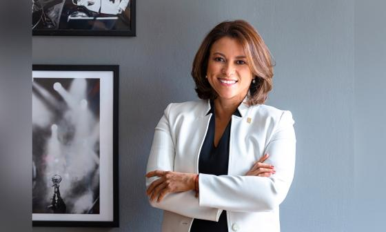 La superintendente de Servicios Públicos Domiciliarios, Natasha Avendaño García.