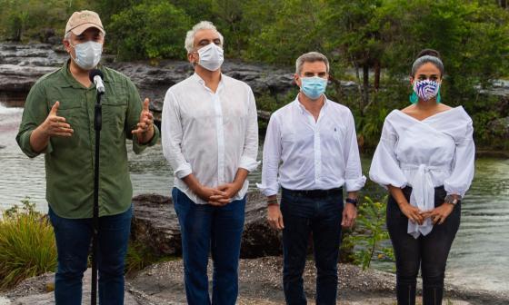 En video | Duque designa como nuevo ministro de Minambiente a Carlos Correa