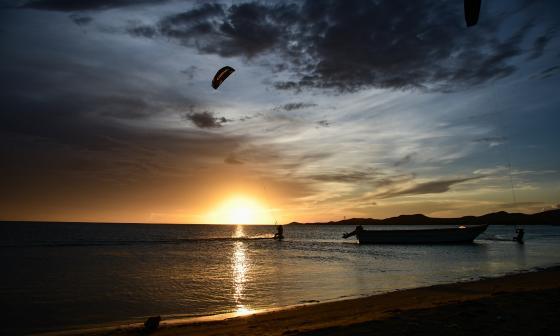 Playas del Cabo de la Vela, en La Guajira.