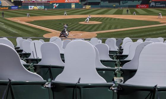 Se permitirán fanáticos en algunos juegos de playoffs en la MLB