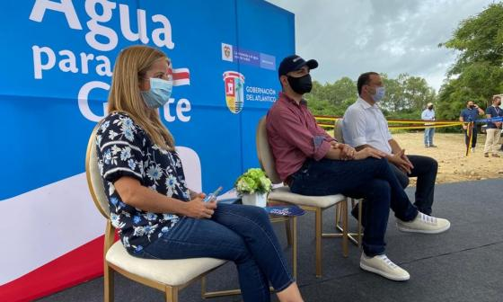 Planta de tratamiento de agua en Galapa beneficiará a 43 mil atlanticenses