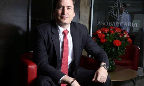 Santiago Castro, presidente de Asobancaria.