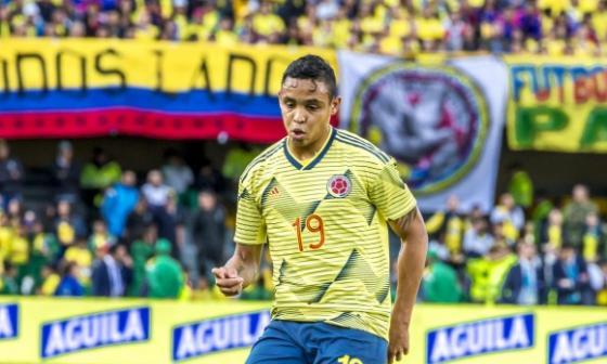Luis Fernando Muriel es uno de los convocados a la Selección Colombia.
