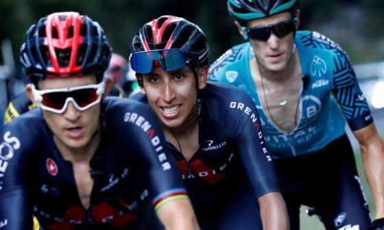 Egan Bernal no estará en la Vuelta a España para recuperarse físicamente