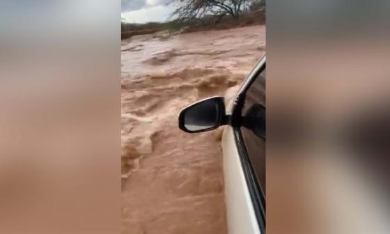 Emergencia en la Alta Guajira por inundaciones