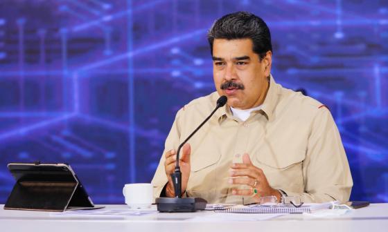 Maduro dice que Ejército de Colombia forma mercenarios para atacar Venezuela