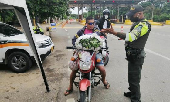 Transitado puente festivo en las vías de Sucre en medio de la pandemia