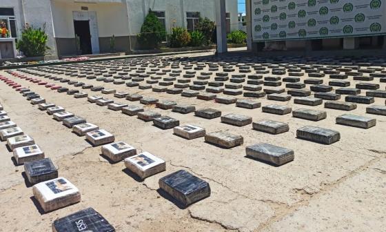 Policía de la Guajira superó metas en operativos contra el narcotráfico