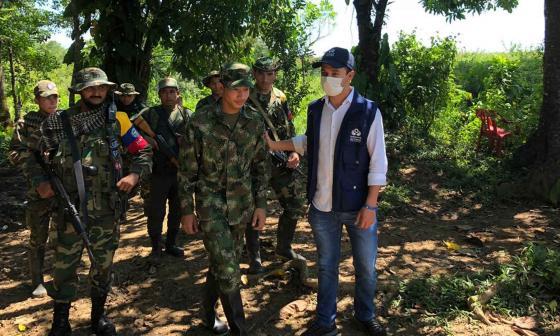 Liberan a soldado que había sido secuestrado por disidencias de las Farc