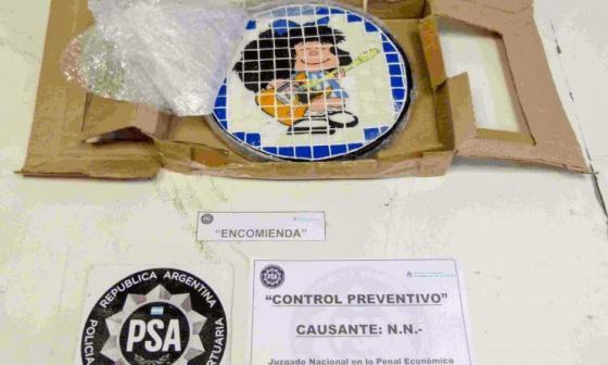 Desarticulan una banda que traficaba drogas a través de la imagen de Mafalda