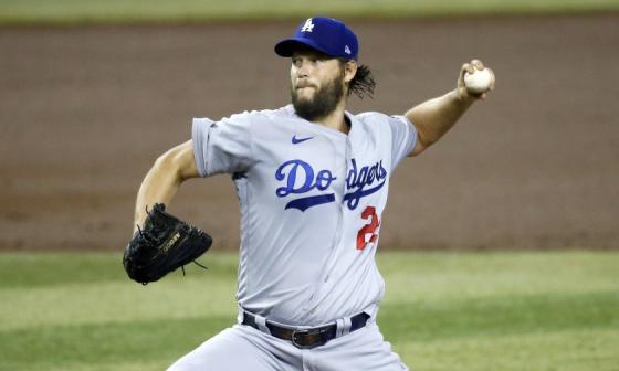 Clayton Kershaw abrirá por Los Ángeles Dodgers en el Juego 1 de la Serie Mundial.