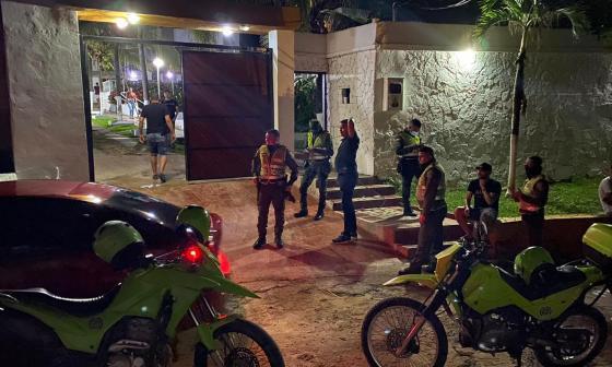 'Apagan' otra fiesta clandestina en Altos de Pradomar