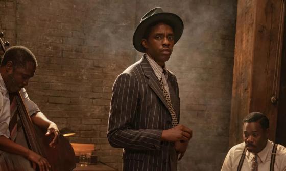 Chadwick Boseman en su papel de Leeve en 'Madre del blues'.