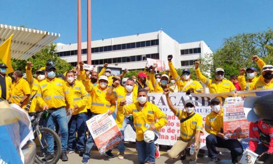 """""""Rechazamos el abandono del Gobierno al pueblo colombiano"""""""