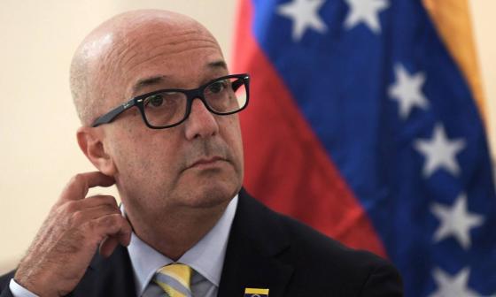 Iván Simonovis, excomisario de la desaparecida Policía Metropolitana de Caracas.