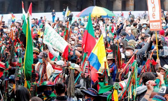 Del paro nacional del 21 a la minga: un año de protestas