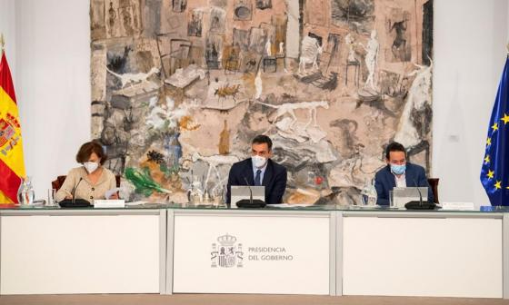 Gobierno español aprueba nuevo toque de queda