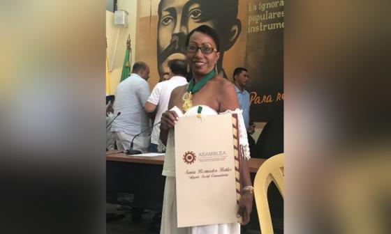 """En video   """"Los muertos son mi vida"""": Sonia Bermúdez"""
