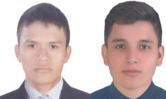 Andrés Moriano Caicedo y Yeiron Pantoja, capturados por masacre en Samaniego.