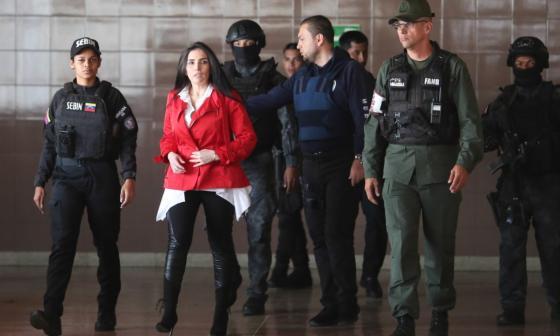 Extradición de Aida Merlano no figura en su expediente