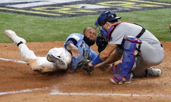 Los Rays, a vencer o morir; Dodgers, a un triunfo del título