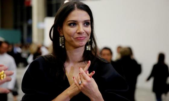 María Paz Gaviria, organizadora del evento.