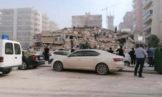 En video | Terremoto en el Egeo deja 22 muertos, 20 de ellos en Turquía