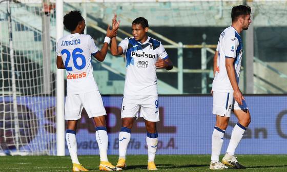 Muriel comanda la victoria del Atalanta con doblete en 38 minutos