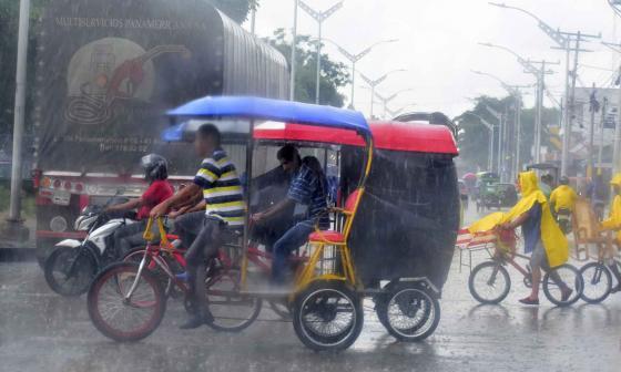 Lluvias continuarán en la Región Caribe por paso del huracán Eta