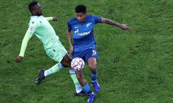 El Zenit de Wilmar Barrios pierde dos puntos valiosos ante la Lazio