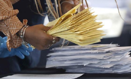 Servicio Postal de EEUU procesó más de 150.000 votos después de la elección