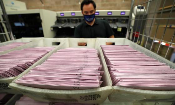 Supremo de EE.UU. ordena a Pensilvania que separe los votos tardíos