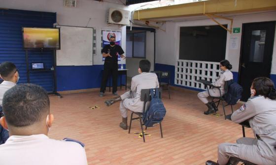 Academia militar en Montería se adhiere a la alternancia educativa