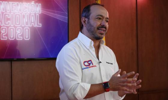 Cambio Radical elige como director a Germán Córdoba