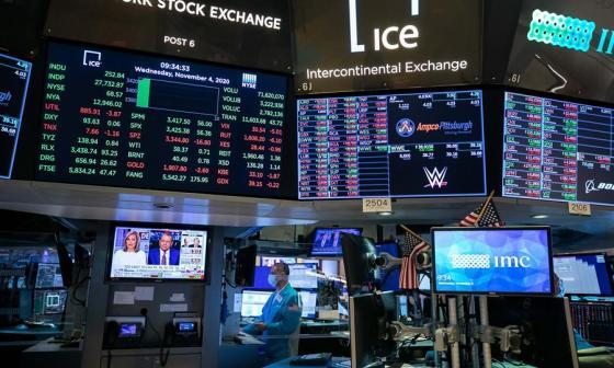 Dow Jones abre en récord, tras noticias de Biden y nueva vacuna